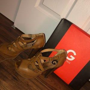 Guess high heel sandals!